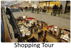 shoppig tour